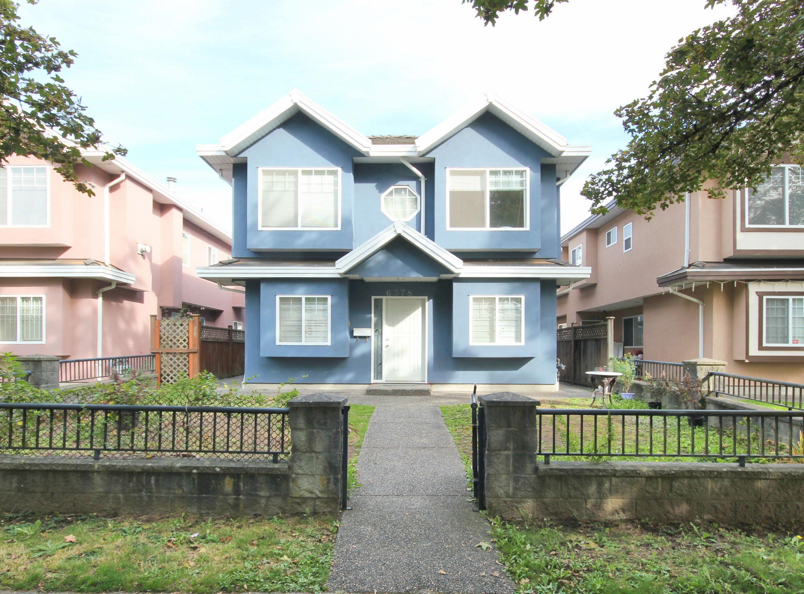 6376 BEATRICE STREET - Killarney VE 1/2 Duplex for sale, 4 Bedrooms (R2622711) - #1