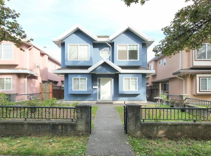 6376 BEATRICE STREET - Killarney VE 1/2 Duplex for sale, 4 Bedrooms (R2622711)