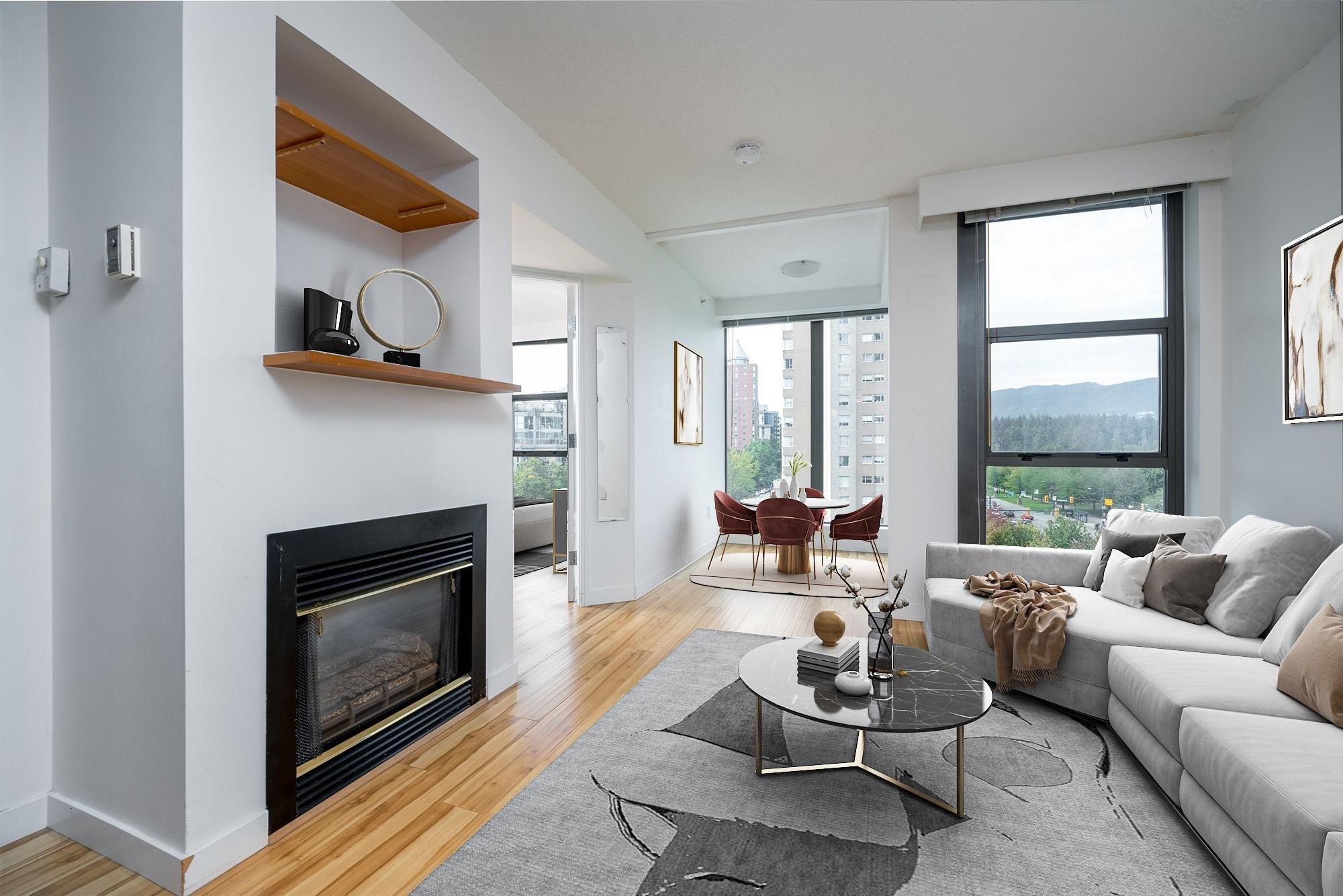 705 1723 ALBERNI STREET - West End VW Apartment/Condo for sale, 1 Bedroom (R2622898) - #1
