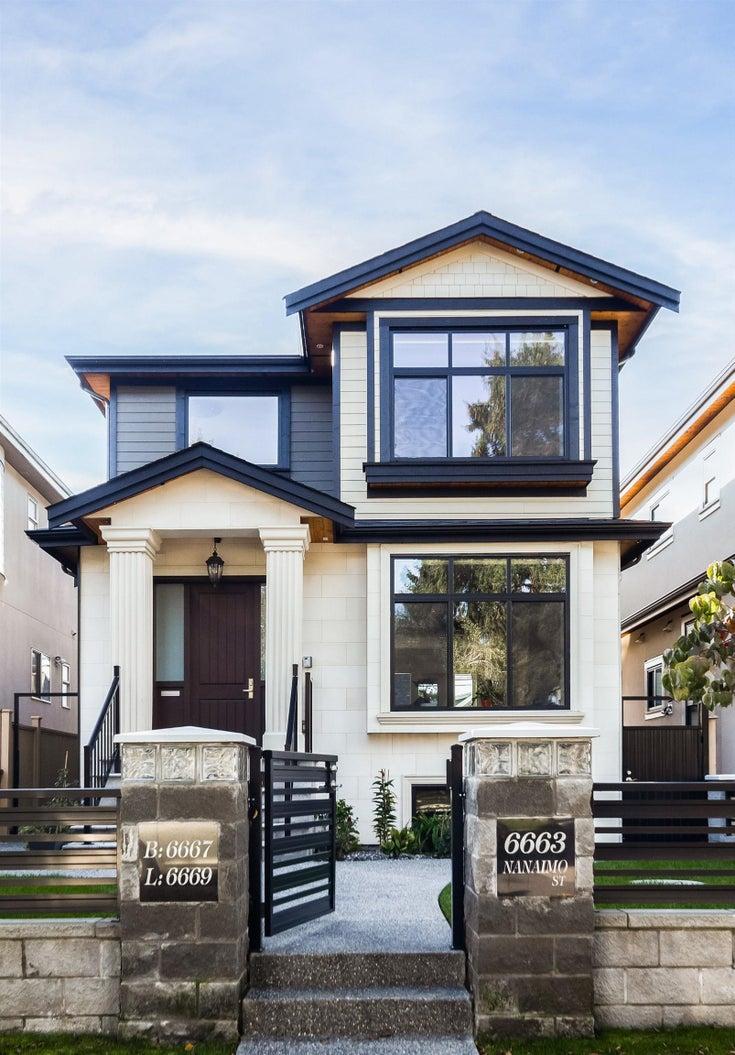 6663 NANAIMO STREET - Killarney VE House/Single Family for sale, 8 Bedrooms (R2622923)