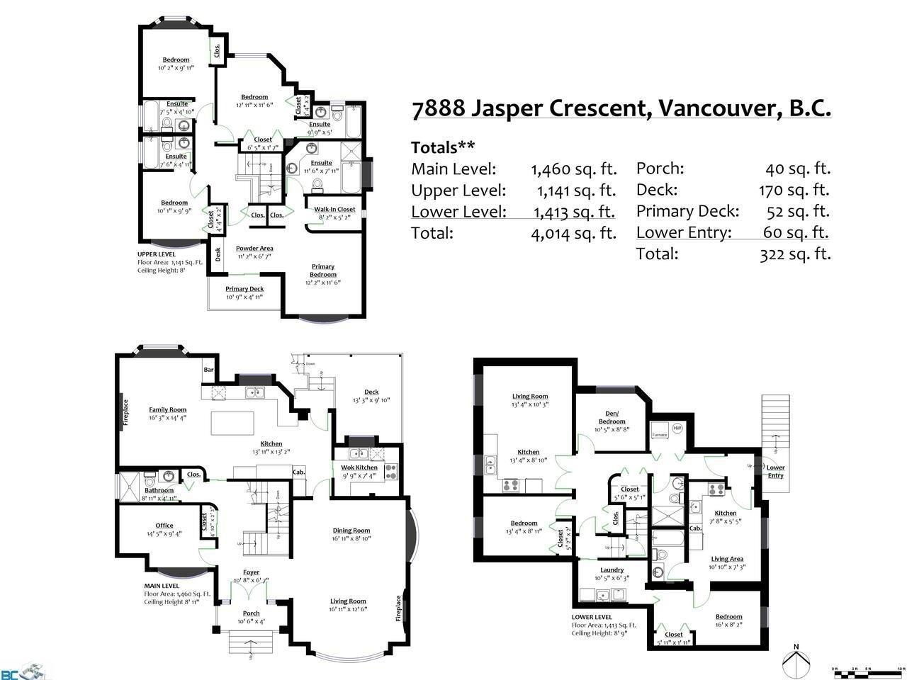 7888 JASPER CRESCENT - Fraserview VE House/Single Family for sale, 7 Bedrooms (R2622945) - #27