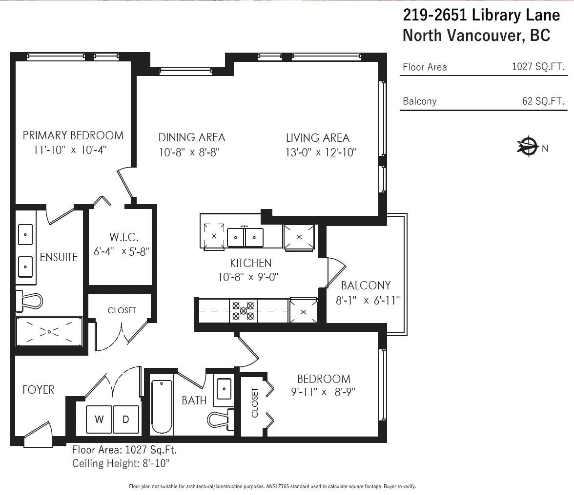 219 2651 LIBRARY LANE - Lynn Valley Apartment/Condo for sale, 2 Bedrooms (R2623232) - #17