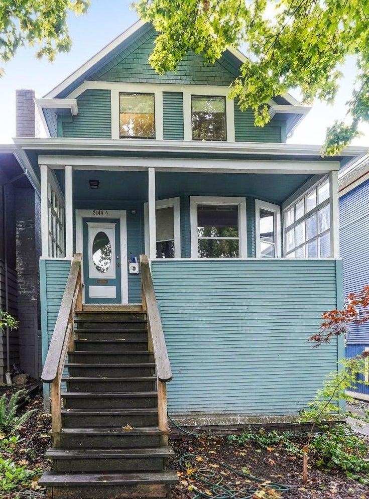 2144 W 13TH AVENUE - Kitsilano House/Single Family for sale, 3 Bedrooms (R2623247)
