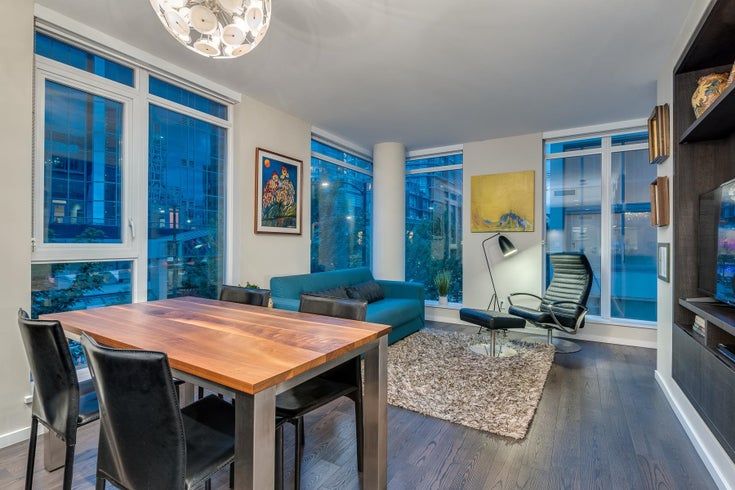 302 1351 CONTINENTAL STREET - Downtown VW Apartment/Condo for sale, 1 Bedroom (R2623344)