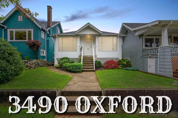 3490 OXFORD STREET - Hastings Sunrise House/Single Family for sale, 3 Bedrooms (R2623373)