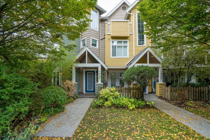 1645 MCLEAN DRIVE - Grandview Woodland Townhouse for sale, 3 Bedrooms (R2623379)