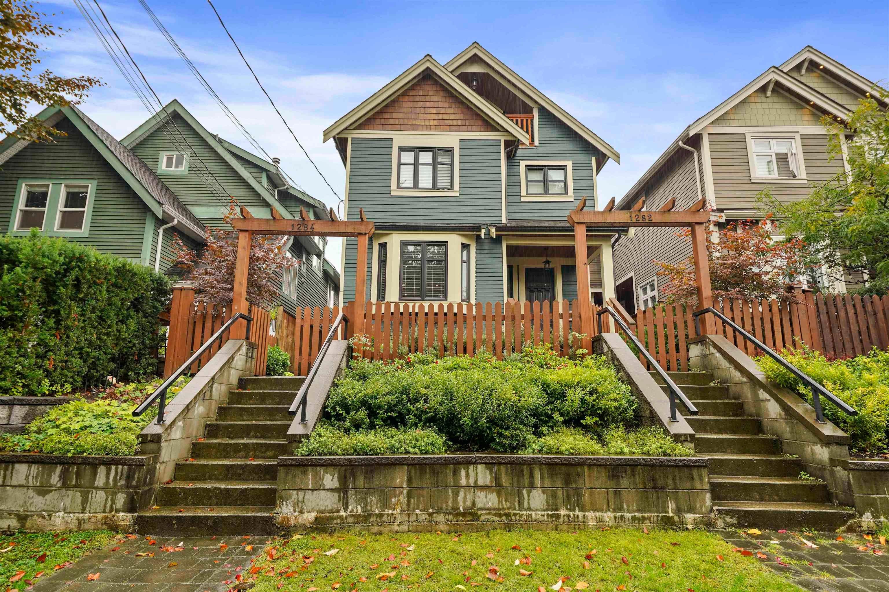1284 E 14TH AVENUE - Mount Pleasant VE 1/2 Duplex for sale, 4 Bedrooms (R2623607) - #1