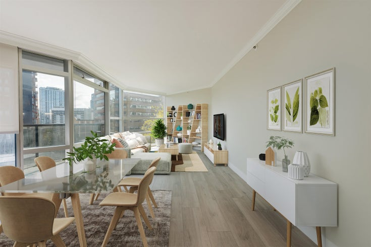 610 1050 BURRARD STREET - Downtown VW Apartment/Condo for sale, 2 Bedrooms (R2623651)