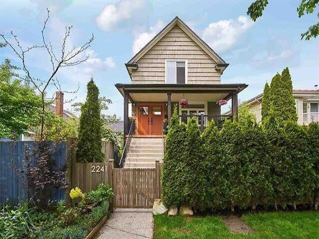 2241 E PENDER STREET - Hastings House/Single Family for sale, 5 Bedrooms (R2623662) - #1