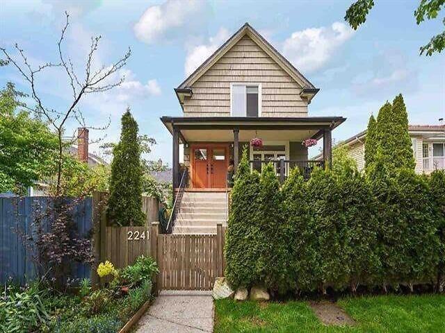 2241 E PENDER STREET - Hastings House/Single Family for sale, 5 Bedrooms (R2623662)