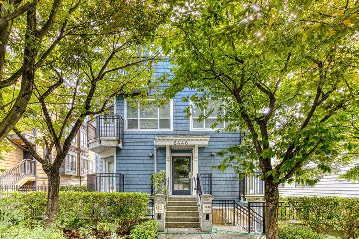 4 2446 W 4TH AVENUE - Kitsilano Apartment/Condo for sale, 2 Bedrooms (R2623832)