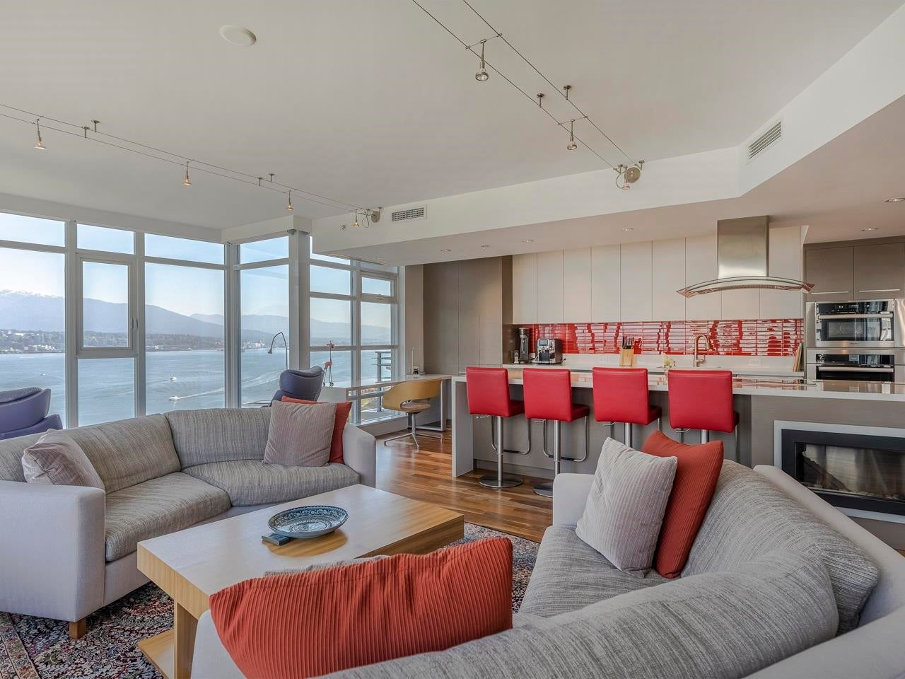 1802 1205 W HASTINGS STREET - Coal Harbour Apartment/Condo for sale, 3 Bedrooms (R2623872)