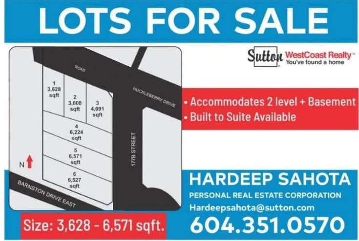 LT.6 17781 E BARNSTON DRIVE - Fraser Heights for sale(R2623972)