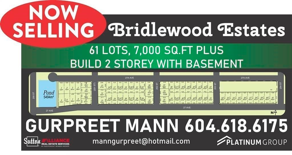 LT.27 200 STREET - Brookswood Langley for sale(R2624047) - #1