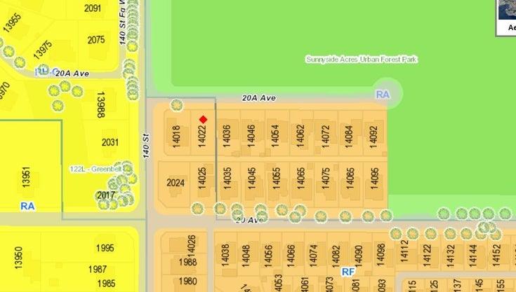 14022 20A AVENUE - Sunnyside Park Surrey for sale(R2624112)