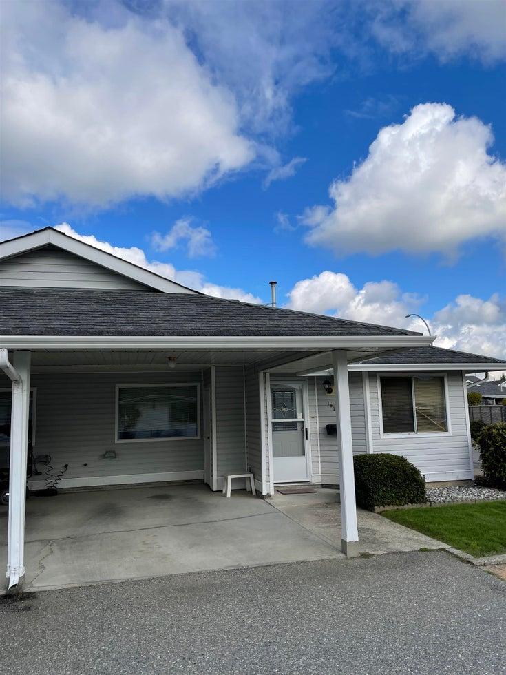 101 7610 EVANS ROAD - Sardis West Vedder Rd Townhouse for sale, 2 Bedrooms (R2624198)