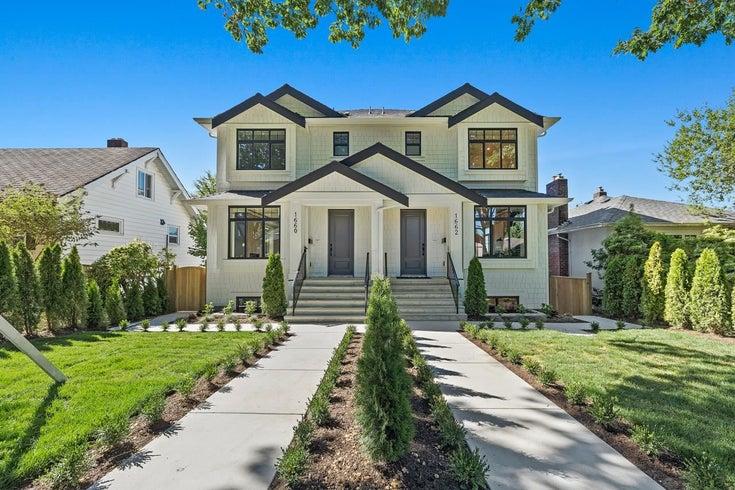 1660 W 63RD AVENUE - South Granville 1/2 Duplex for sale, 4 Bedrooms (R2624285)