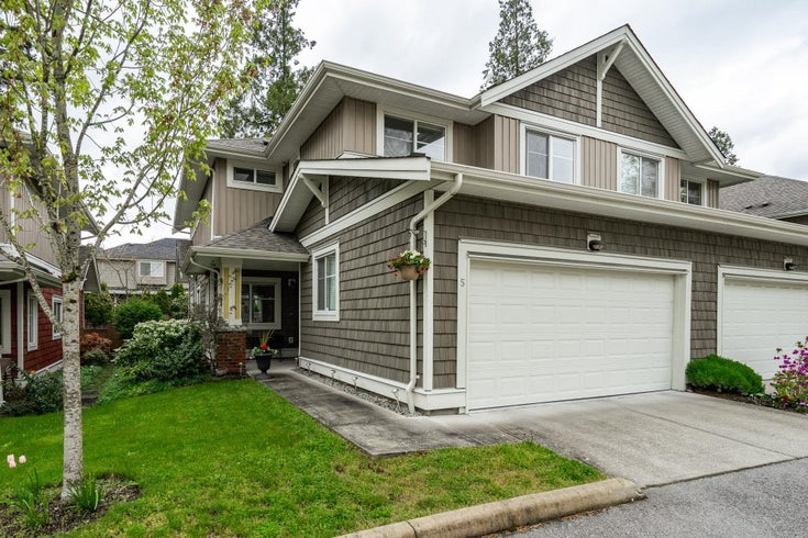 5 6036 164 STREET - Cloverdale BC Townhouse for sale, 4 Bedrooms (R2624326)