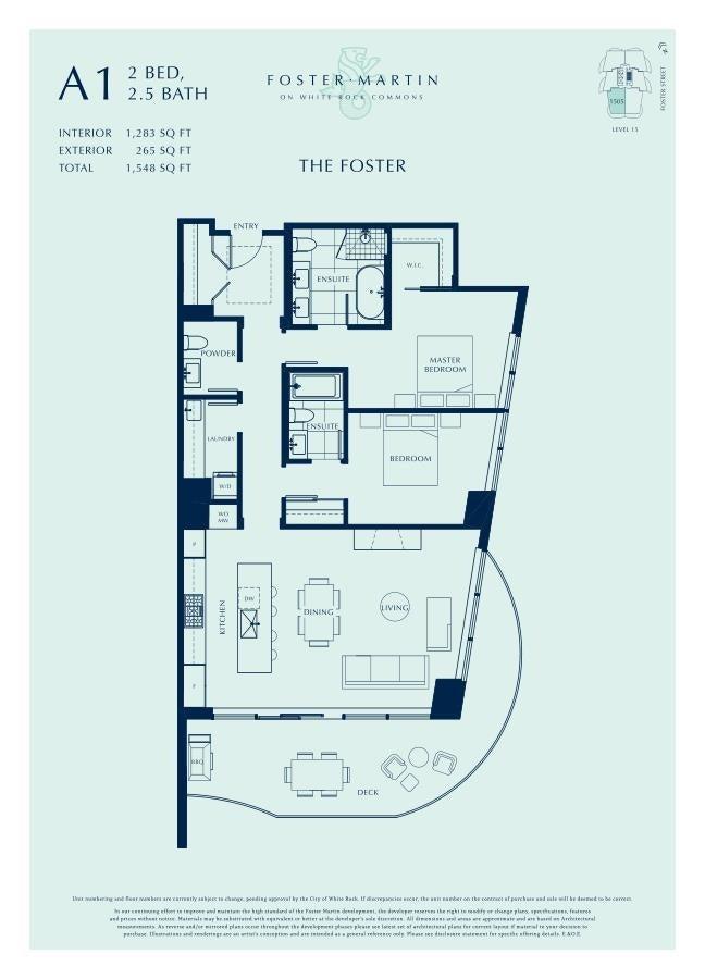 301 1500 MARTIN STREET - White Rock Apartment/Condo for sale, 2 Bedrooms (R2624484)