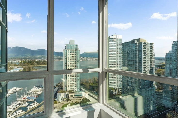 2204 555 JERVIS STREET - Coal Harbour Apartment/Condo for sale, 1 Bedroom (R2624529)