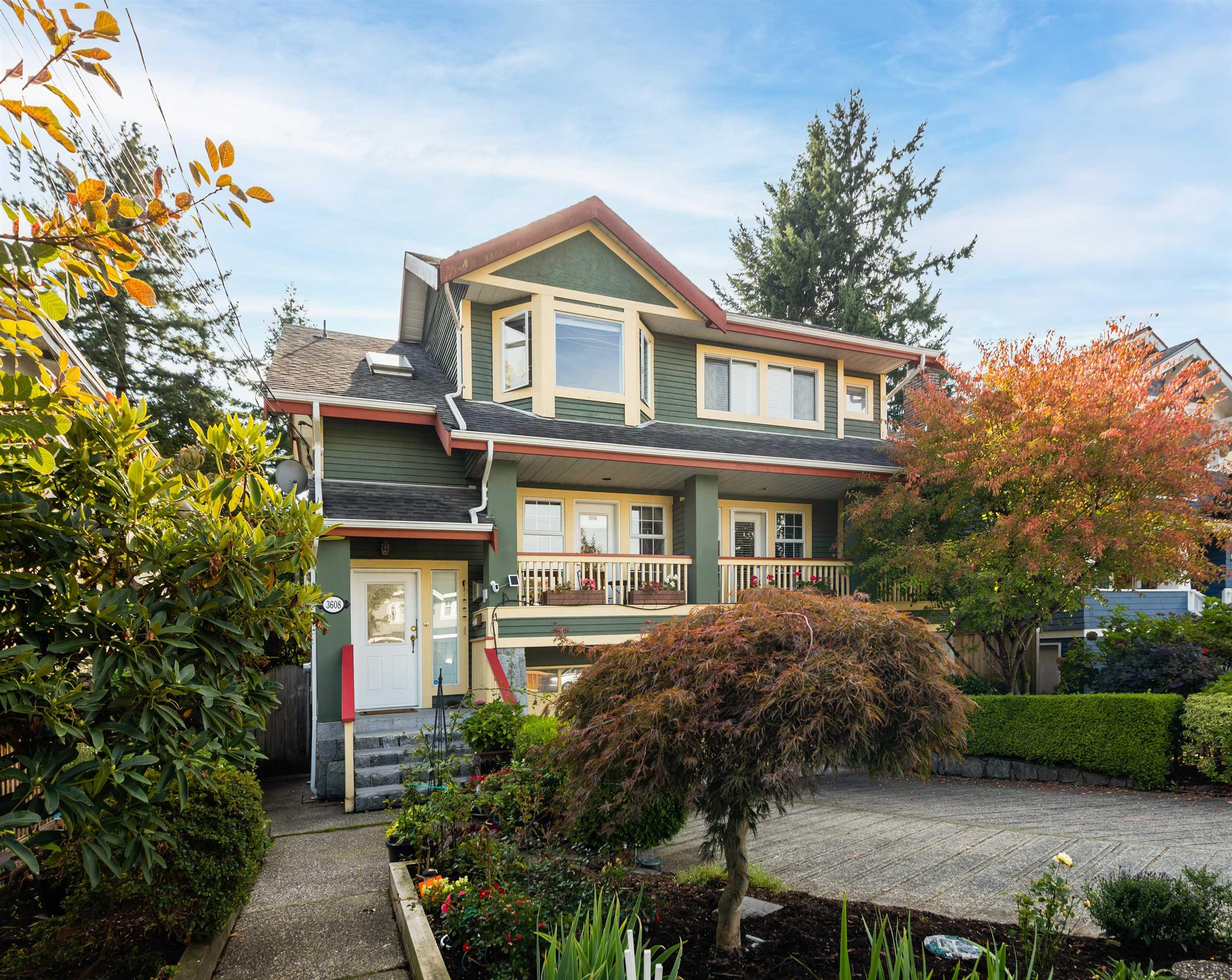 3608 W 7TH AVENUE - Kitsilano 1/2 Duplex for sale, 2 Bedrooms (R2624693)