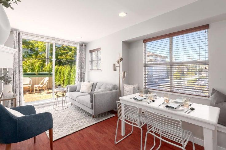 109 5025 JOYCE STREET - Collingwood VE Apartment/Condo for sale, 2 Bedrooms (R2624774)