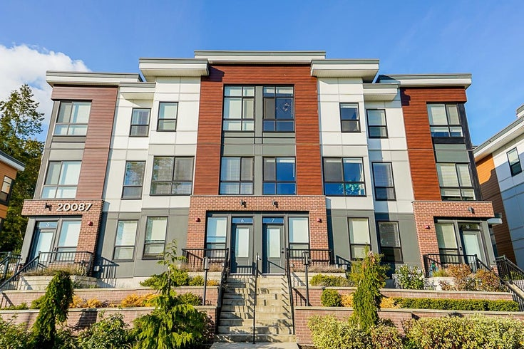 7 20087 68 AVENUE - Willoughby Heights Townhouse for sale, 3 Bedrooms (R2624778)
