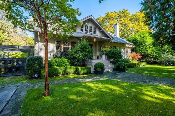 1307 DEVONSHIRE CRESCENT - Shaughnessy House/Single Family for sale, 5 Bedrooms (R2624834)