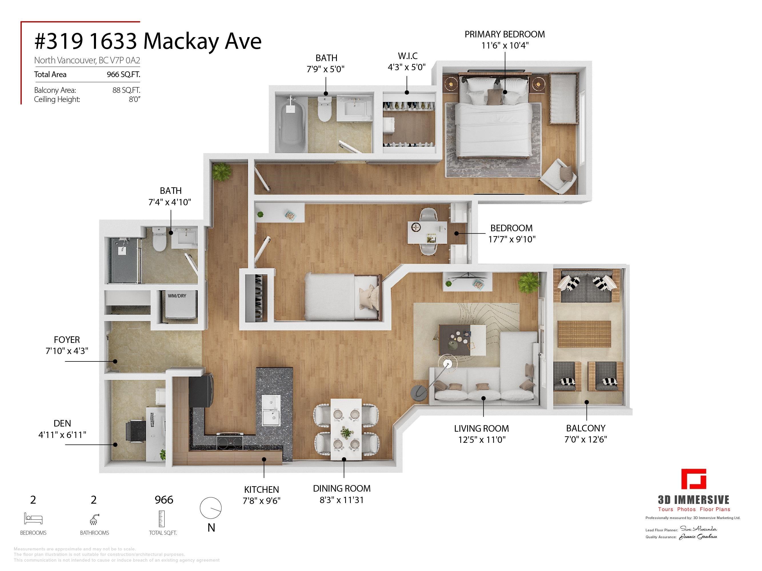 319 1633 MACKAY AVENUE - Pemberton NV Apartment/Condo for sale, 2 Bedrooms (R2624916) - #31