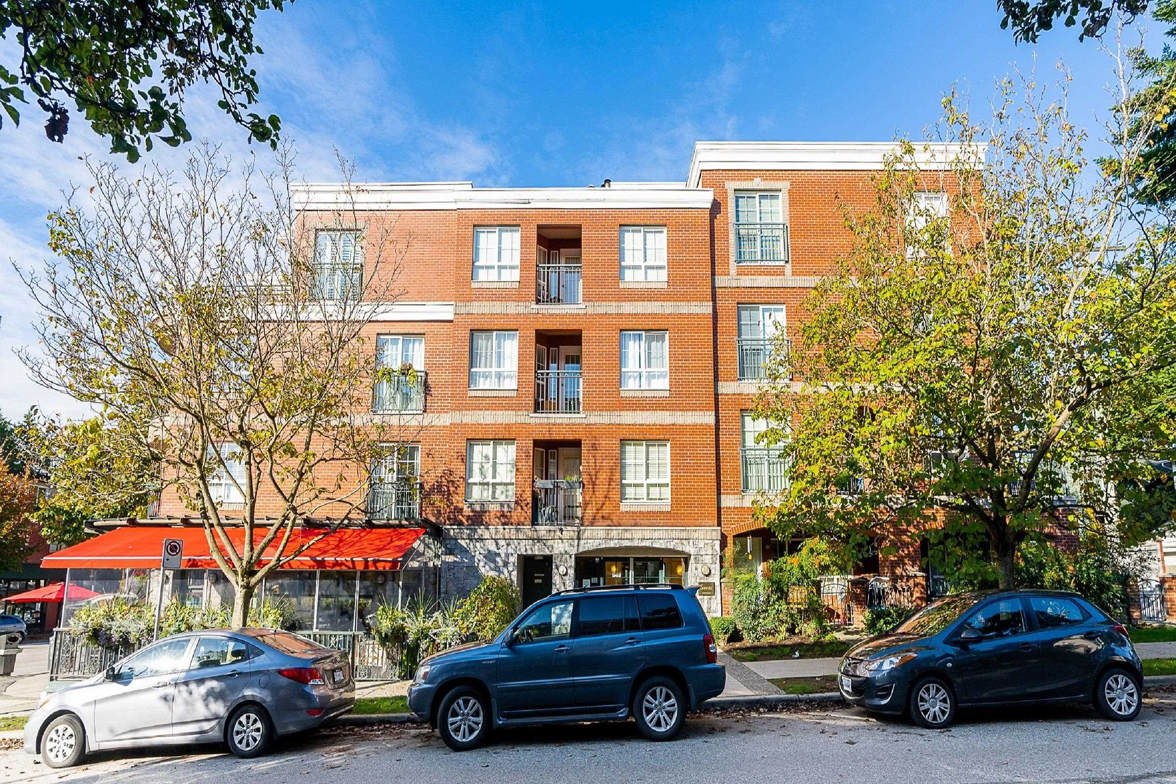 406 1989 DUNBAR STREET - Kitsilano Apartment/Condo for sale, 1 Bedroom (R2624949)