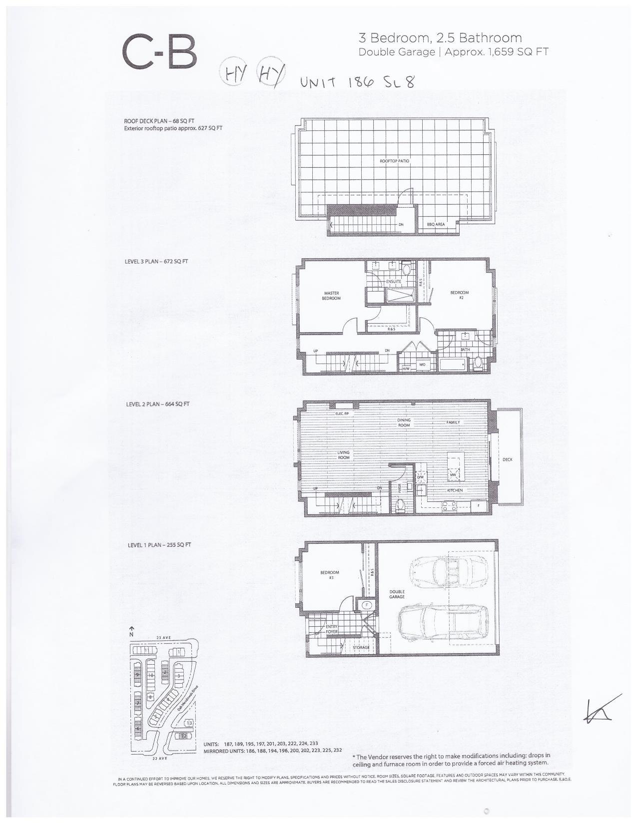 186 2277 OAK MEADOWS DRIVE - Grandview Surrey Townhouse for sale, 3 Bedrooms (R2624950) - #4