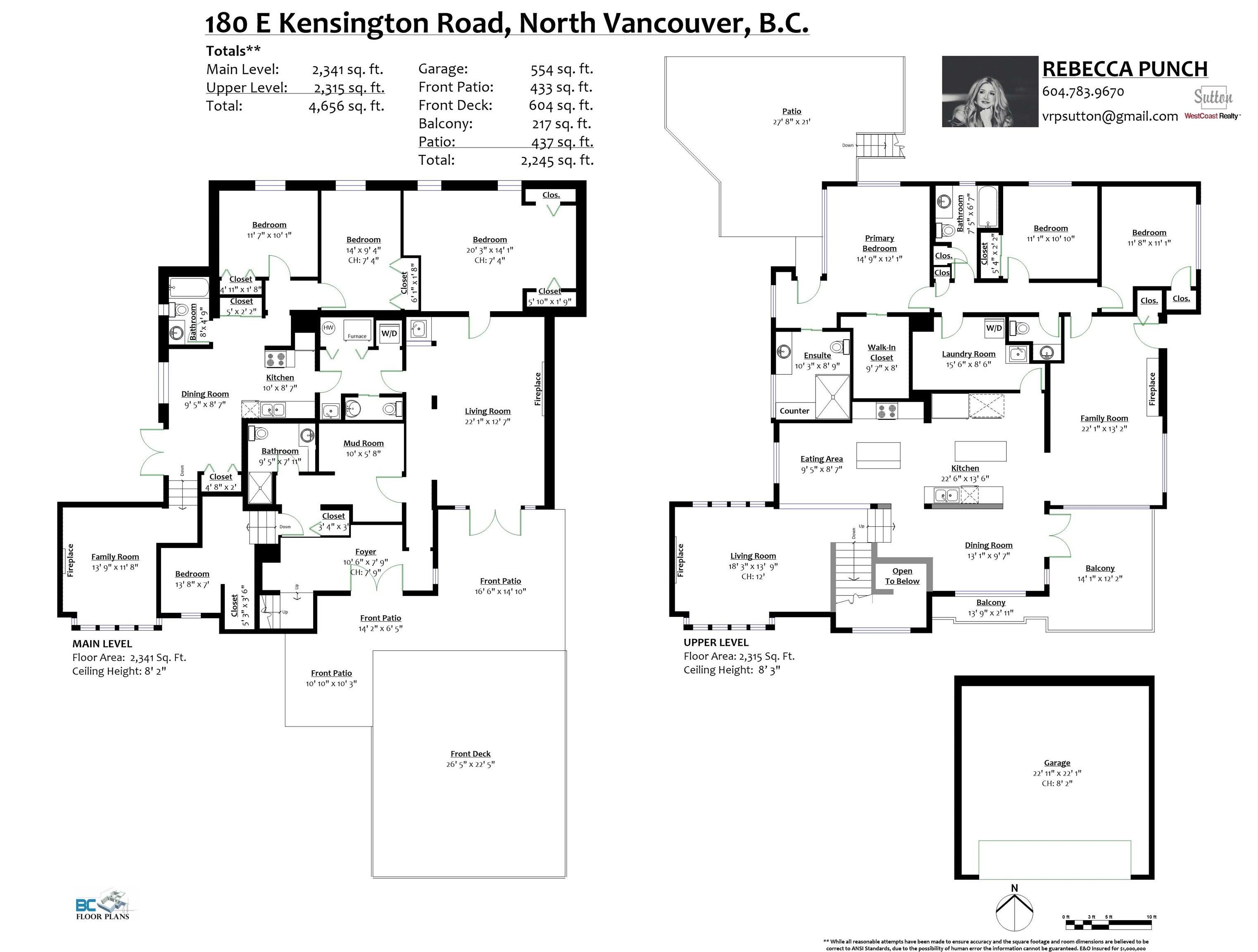 180 E KENSINGTON ROAD - Upper Lonsdale House/Single Family for sale, 6 Bedrooms (R2624954) - #40