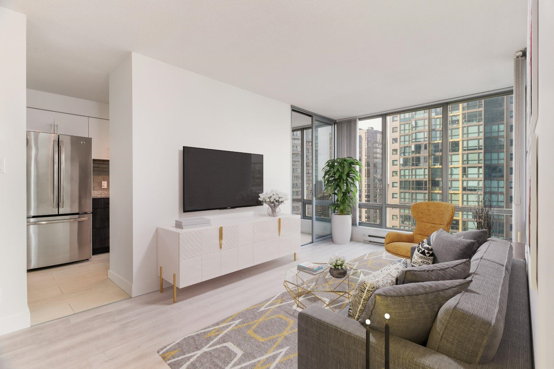 1902 1288 W GEORGIA STREET - West End VW Apartment/Condo for sale, 1 Bedroom (R2625011) - #1