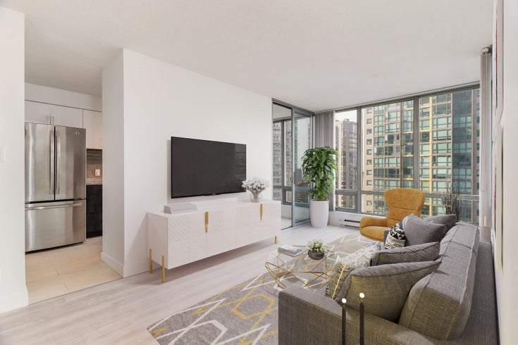 1902 1288 W GEORGIA STREET - West End VW Apartment/Condo for sale, 1 Bedroom (R2625011)