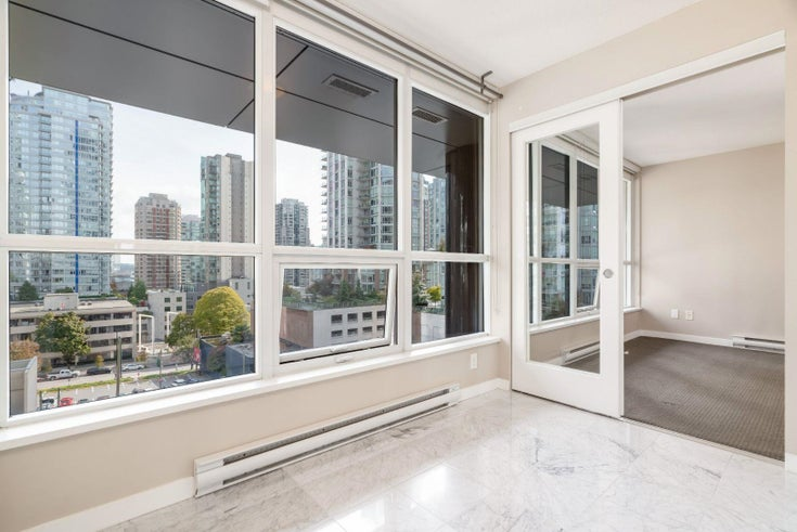 606 833 SEYMOUR STREET - Downtown VW Apartment/Condo for sale, 1 Bedroom (R2625047)