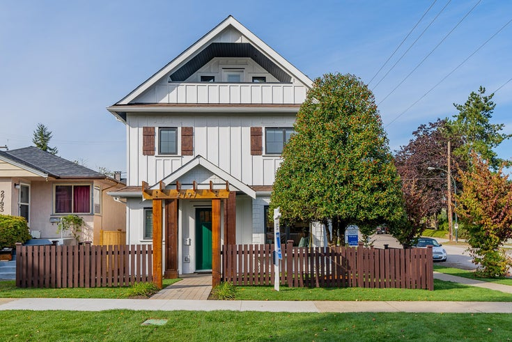 2797 PARKER STREET - Renfrew VE 1/2 Duplex for sale, 3 Bedrooms (R2625073)