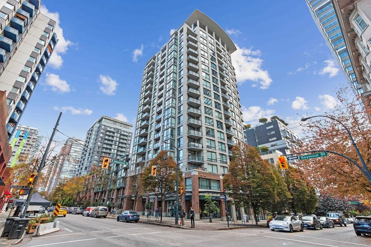 306 1082 SEYMOUR STREET - Downtown VW Apartment/Condo for sale, 1 Bedroom (R2625081)