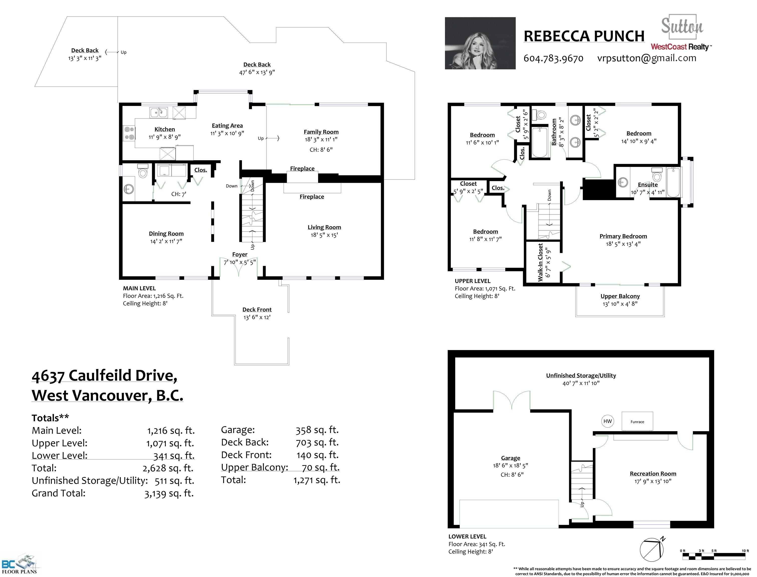 4637 CAULFEILD DRIVE - Caulfeild House/Single Family for sale, 4 Bedrooms (R2625162) - #38