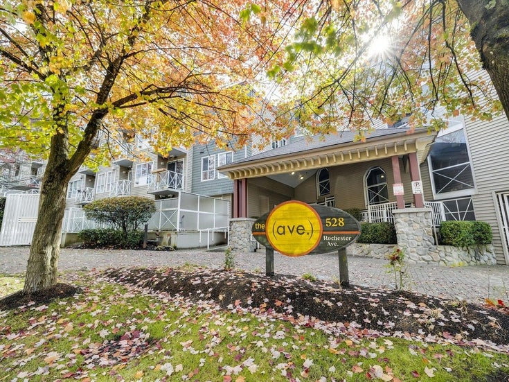 319 528 ROCHESTER AVENUE - Coquitlam West Apartment/Condo for sale, 2 Bedrooms (R2625212)
