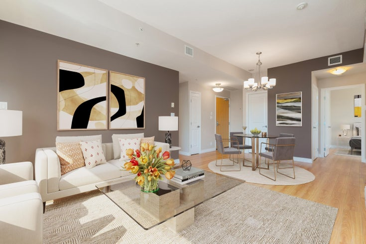 2601 1211 MELVILLE STREET - Coal Harbour Apartment/Condo for sale, 2 Bedrooms (R2625301)