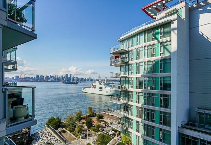 504 199 VICTORY SHIP WAY - Lower Lonsdale Apartment/Condo for sale, 2 Bedrooms (R2625317)