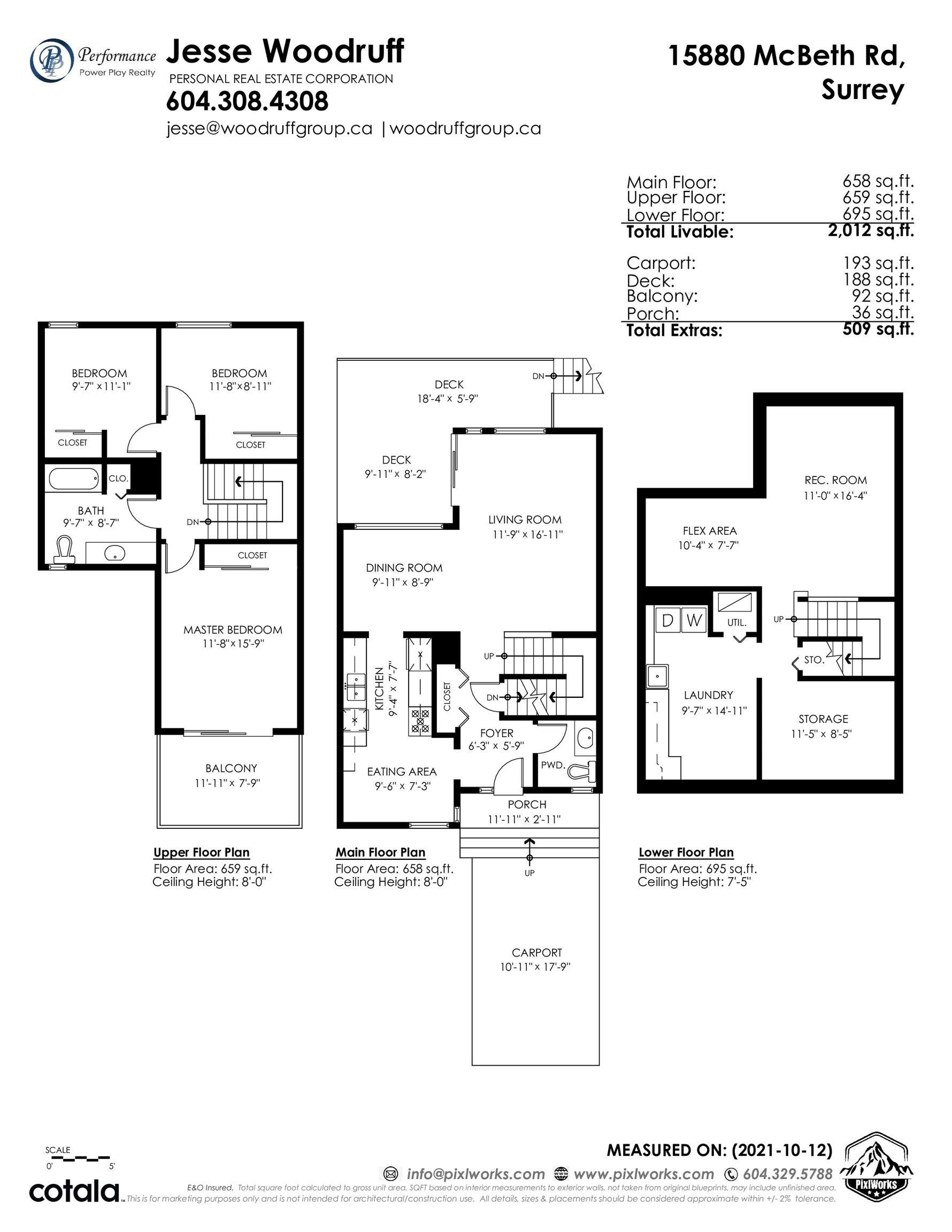 15880 MCBETH ROAD - King George Corridor Townhouse for sale, 3 Bedrooms (R2625450) - #39