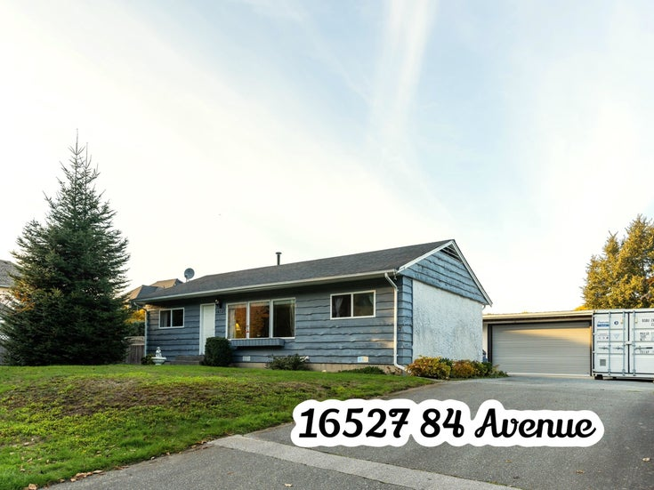 16527 84 AVENUE - Fleetwood Tynehead House/Single Family for sale, 2 Bedrooms (R2625496)