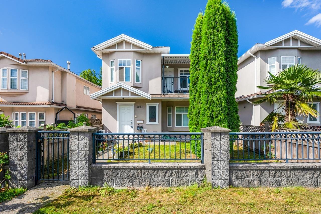 6061 MAIN STREET - Main 1/2 Duplex for sale, 4 Bedrooms (R2625515) - #1