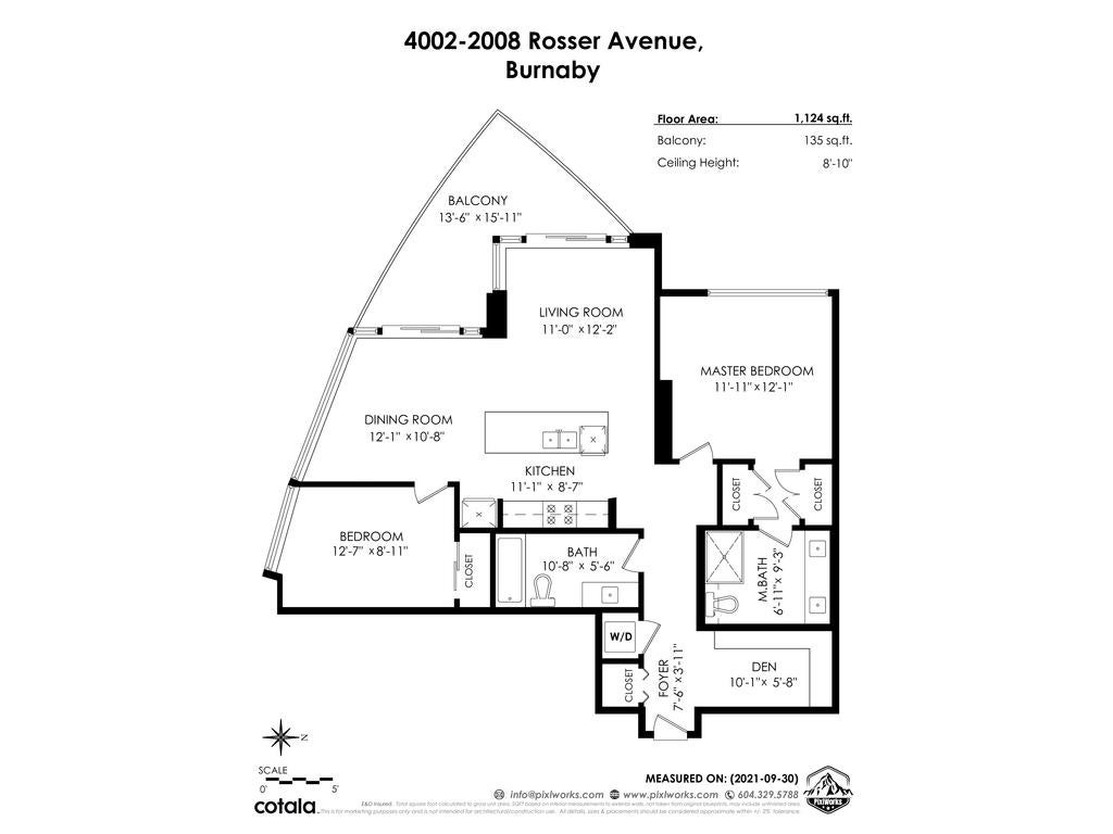 4002 2008 ROSSER AVENUE - Brentwood Park Apartment/Condo for sale, 2 Bedrooms (R2625548) - #40