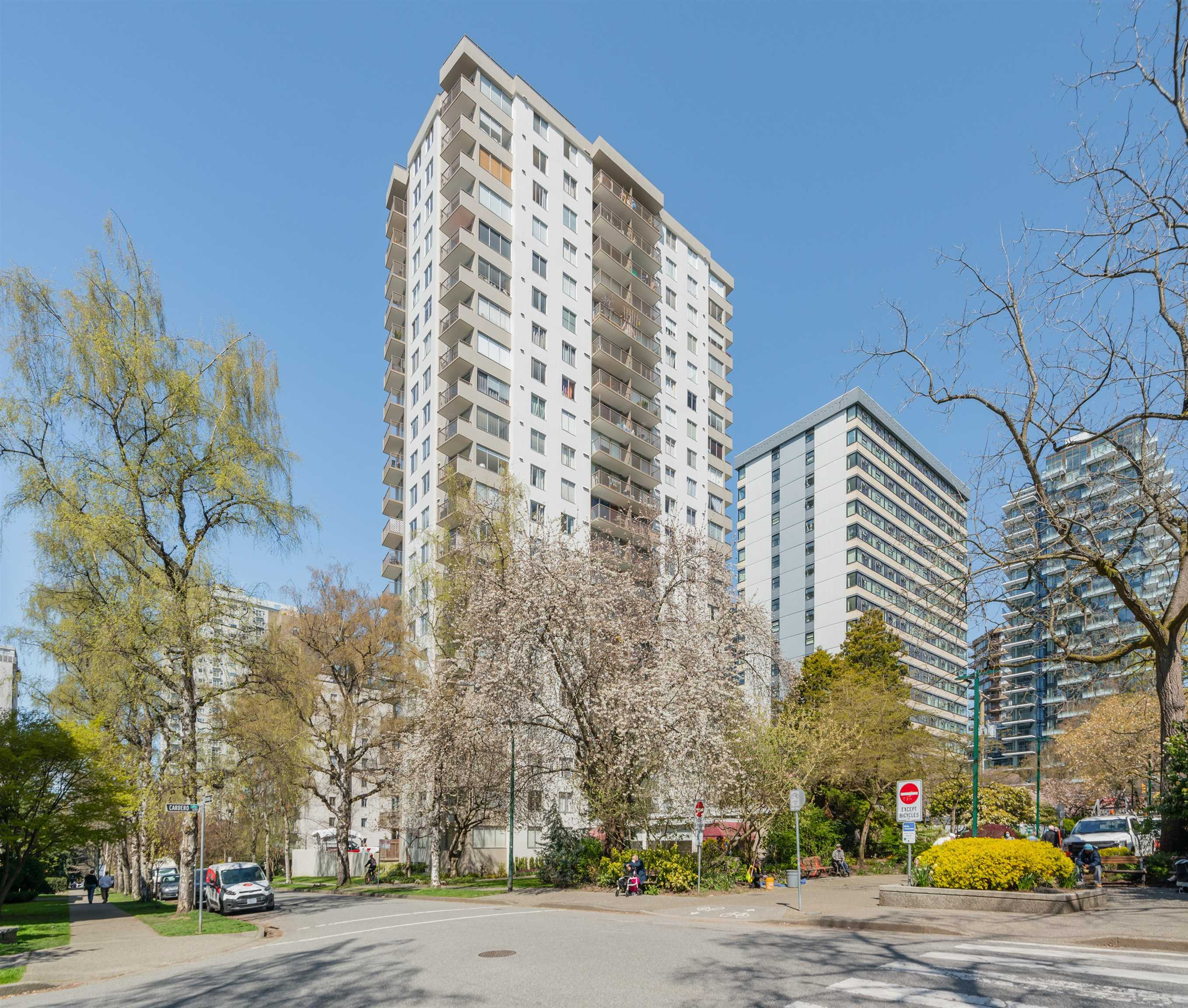 806 1251 CARDERO STREET - West End VW Apartment/Condo for sale, 1 Bedroom (R2625738) - #30
