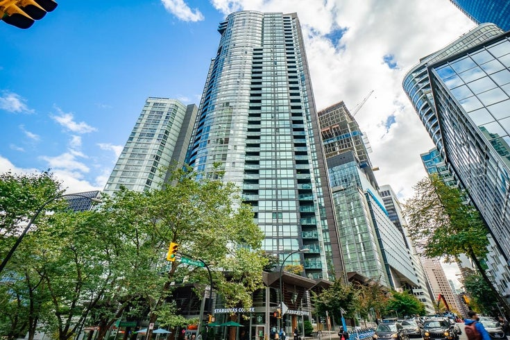 1204 1189 MELVILLE STREET - Coal Harbour Apartment/Condo for sale, 1 Bedroom (R2625785)