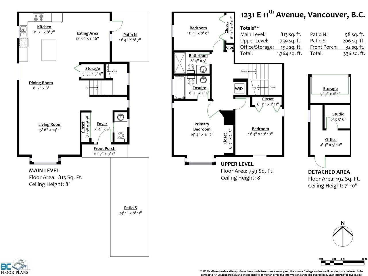1231 E 11TH AVENUE - Mount Pleasant VE 1/2 Duplex for sale, 3 Bedrooms (R2625828) - #36
