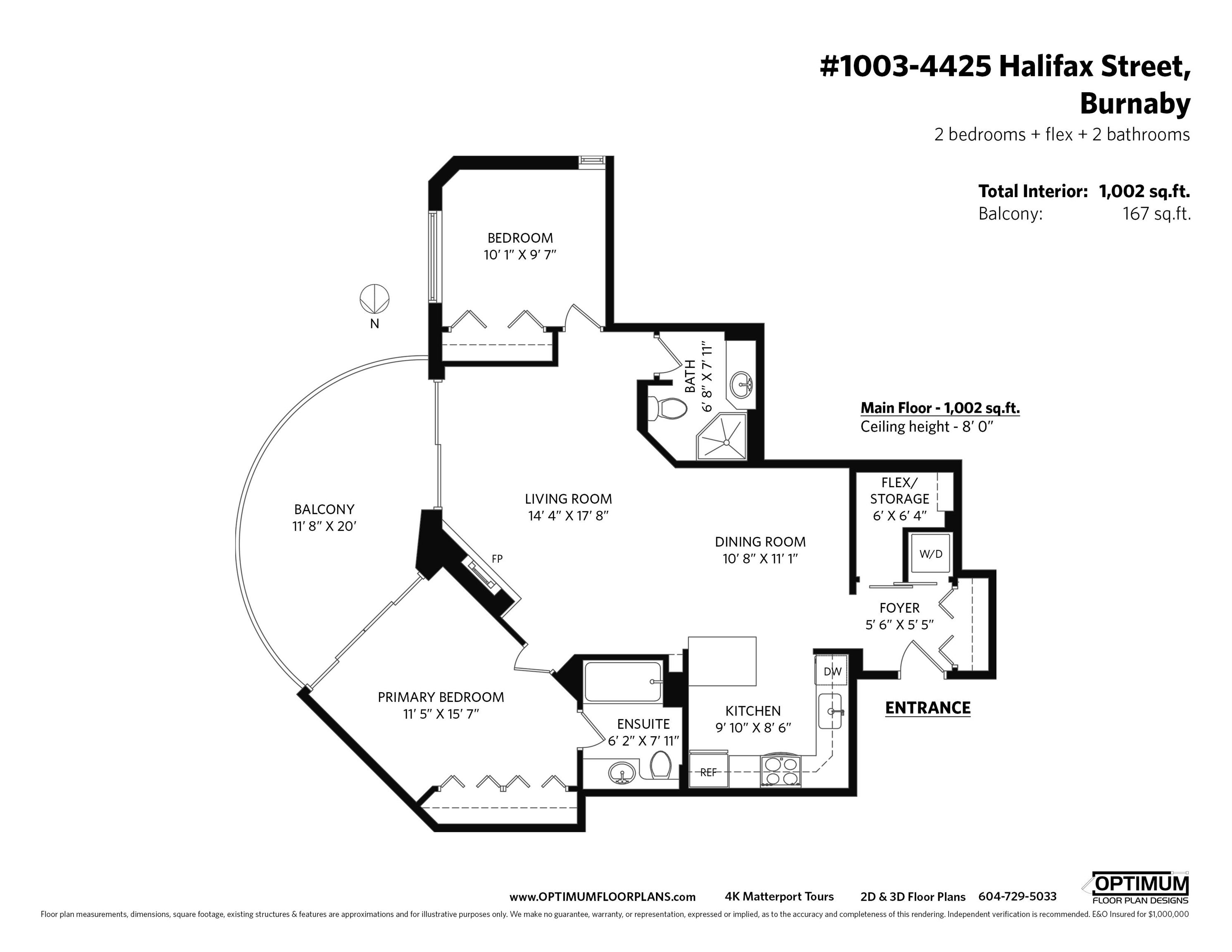 1003 4425 HALIFAX STREET - Brentwood Park Apartment/Condo for sale, 2 Bedrooms (R2625845) - #36