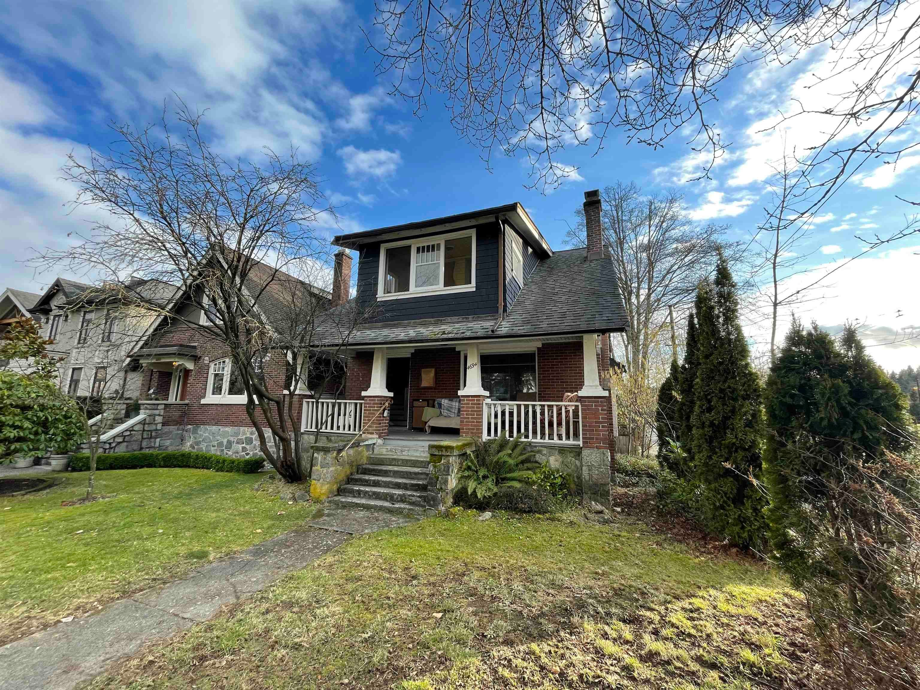 4694 W 8TH AVENUE - Point Grey House with Acreage for sale, 5 Bedrooms (R2625848)